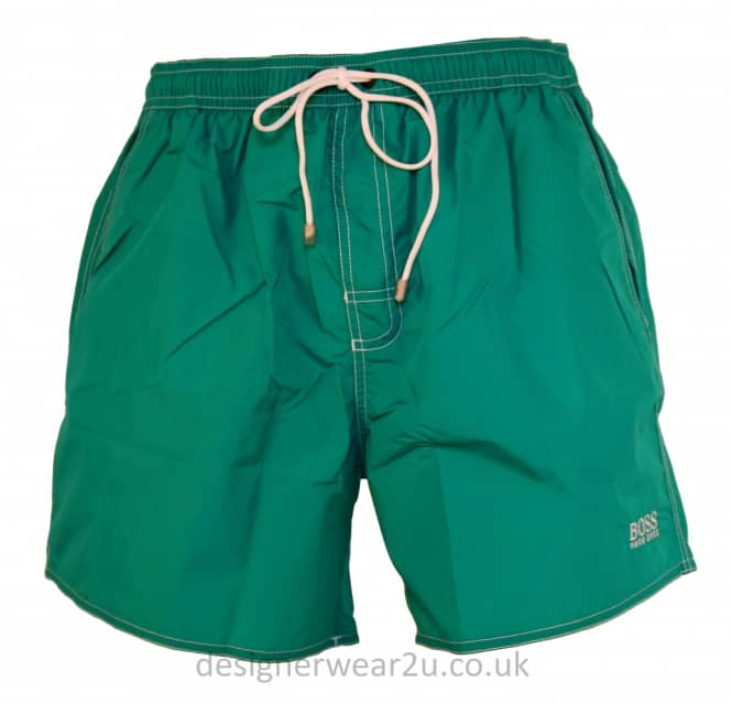 Hugo Boss Hugo Boss Green Lobster Swim Shorts