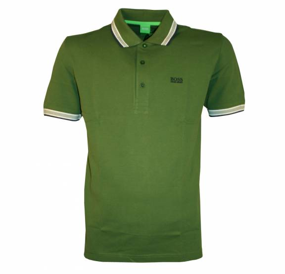 Hugo boss green paddy polo shirt polo shirts from for Hugo boss green polo shirt sale