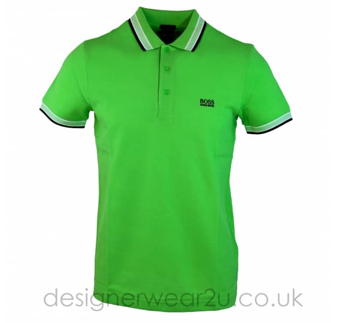 Hugo Boss Hugo Boss Green Paddy Polo Shirt