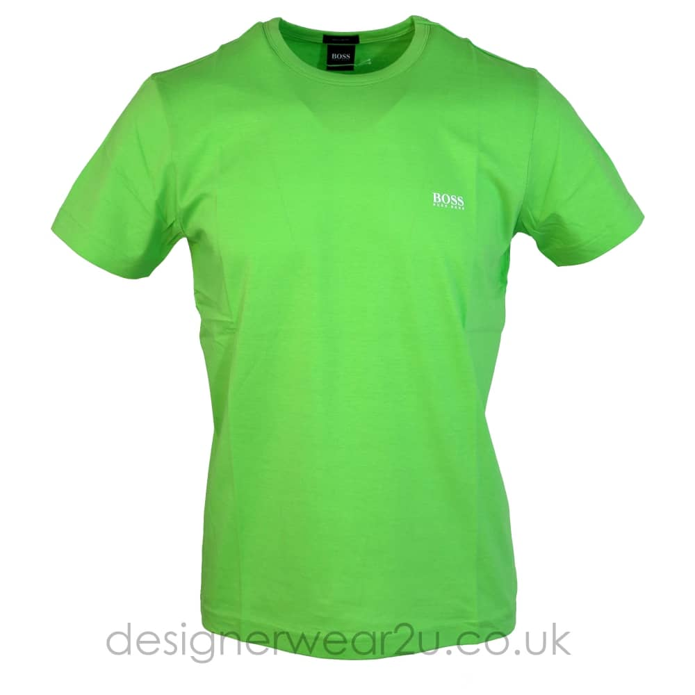 31a29234d20 Hugo Boss Green T-Shirt With Shoulder Logo - Holiday Shop from ...