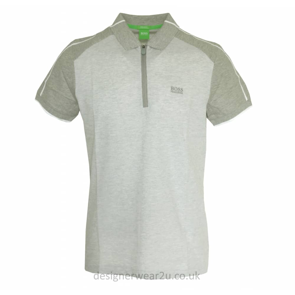fd22061bc Hugo Boss Grey Philix Polo - Holiday Shop from DesignerWear2U UK