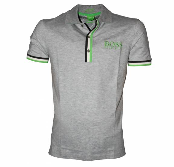 ac3b1f38 Hugo Boss Grey Paddy Pro 1 Polo Shirt - Polo Shirts from ...