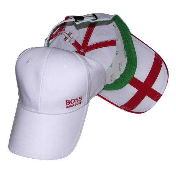 Hugo Boss White England Cap - Hats from DesignerWear2U UK fca711c3803