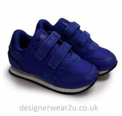 33cd609a74012 Hugo Boss Kids Blue Velcro Trainers