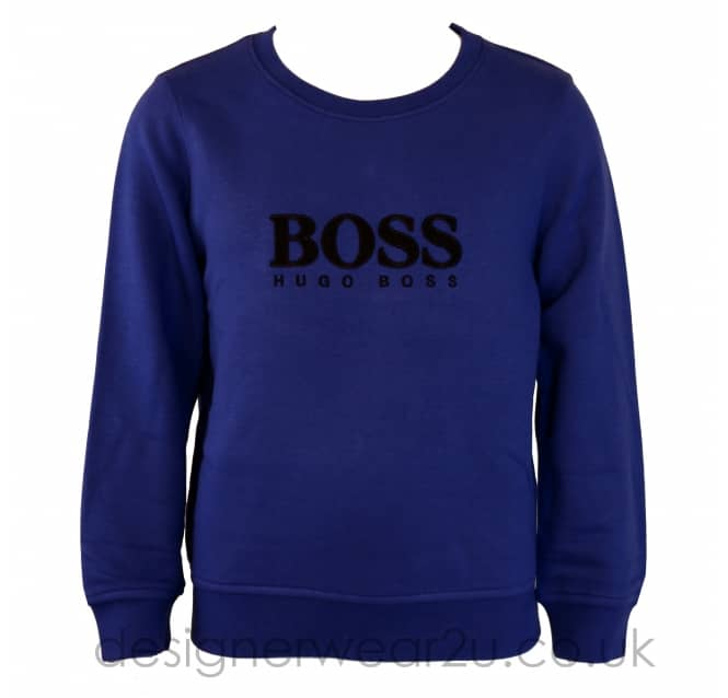 Hugo Boss Junior Hugo Boss Kids Ink Sweater with Boss Logo