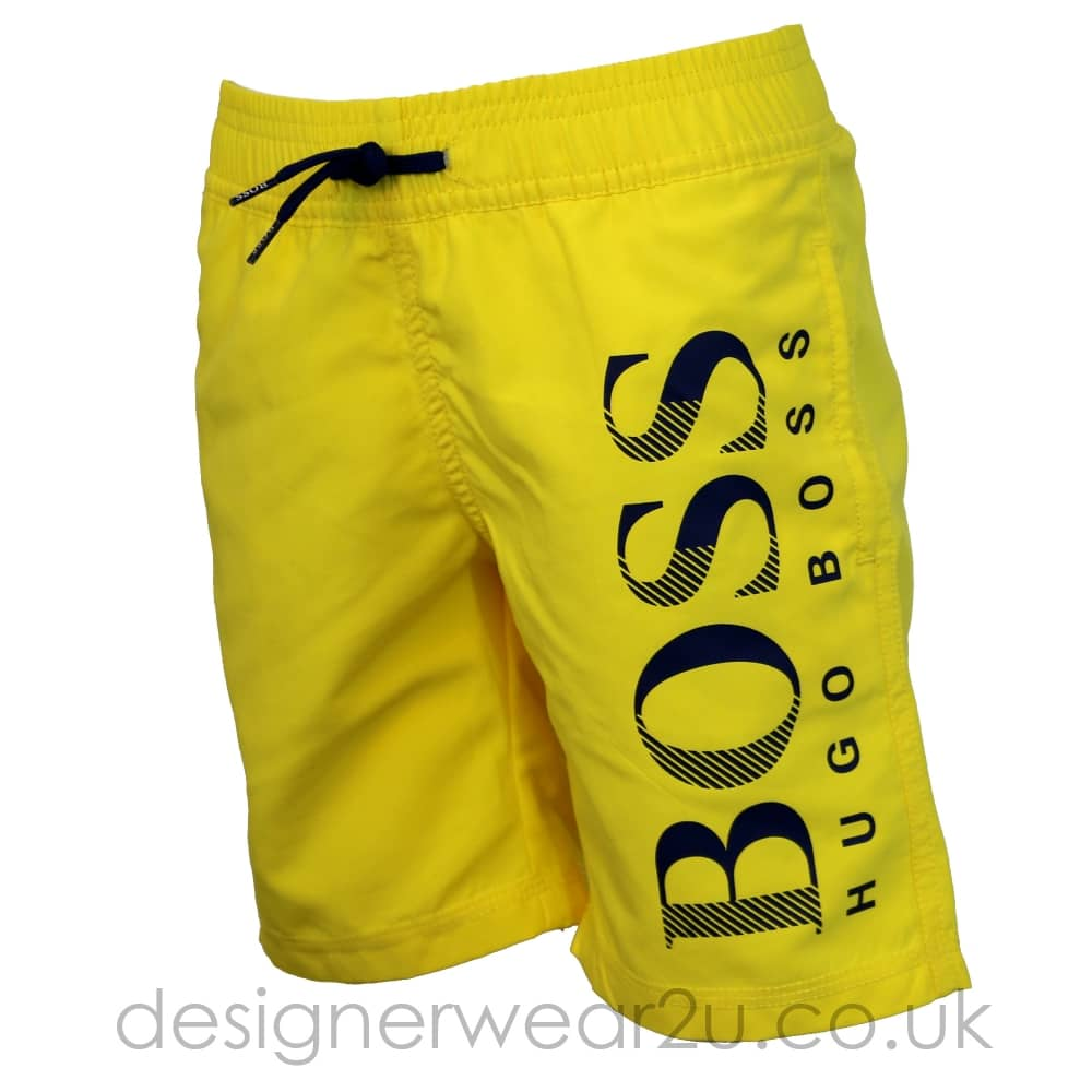hugo boss swim shorts junior