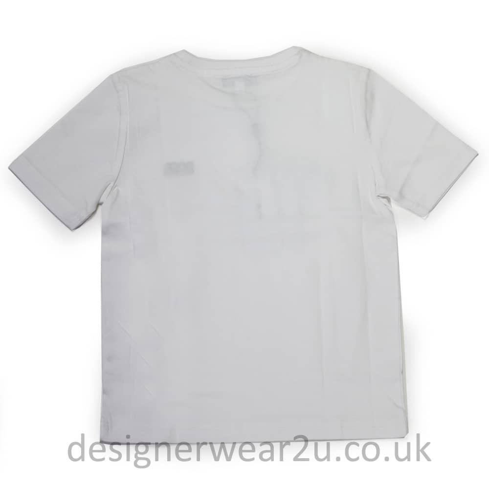 88577992 Hugo Boss Junior Hugo Boss Kids T-Shirt in White - Kids Collection ...