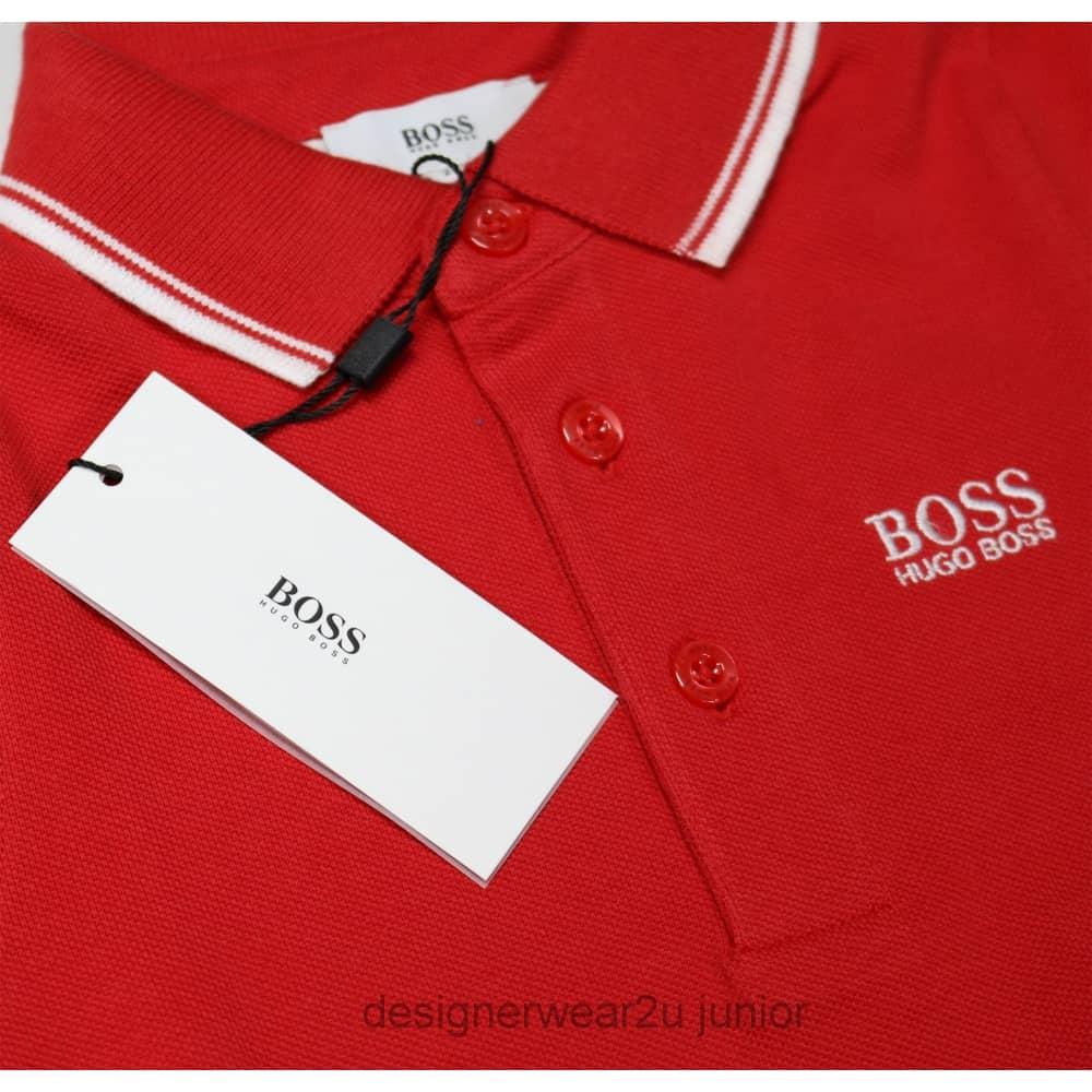 809d03974 Hugo Boss Junior Kids Hugo Boss Classic Polo in Red - Kids ...