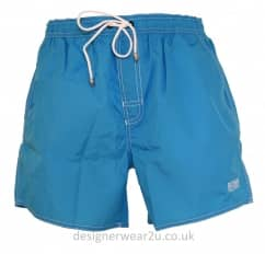 Hugo Boss Light Blue Lobster Swim Shorts
