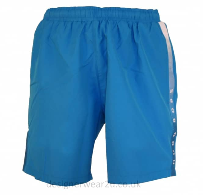 Hugo Boss Hugo Boss Light Blue Seabream Swim Shorts