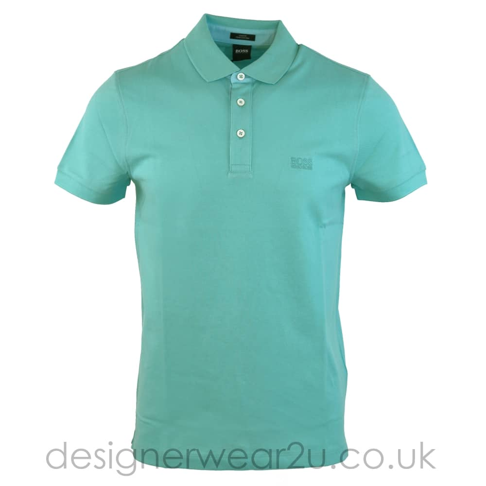 362911b4b Hugo Boss Mint Slim Fit Polo Shirt - Holiday Shop from DesignerWear2U UK