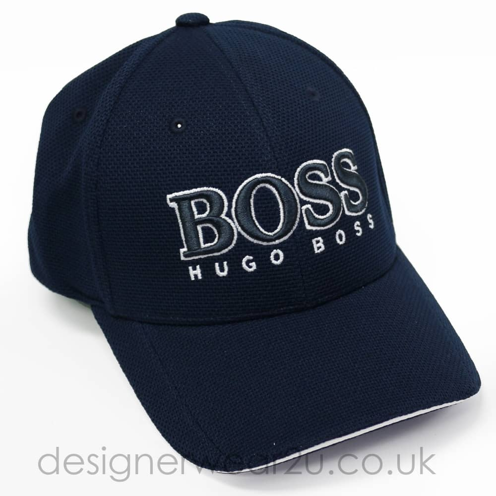 504f21916 Hugo Boss Hugo Boss Navy Baseball Cap With Large Embroidered Logo