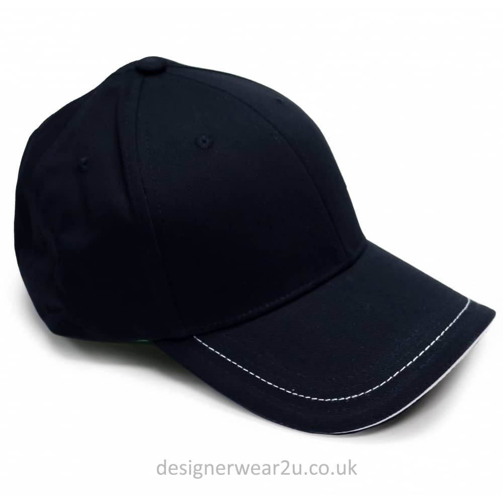 f6035afc0 Navy Baseball Cap With Small Embroidered Logo