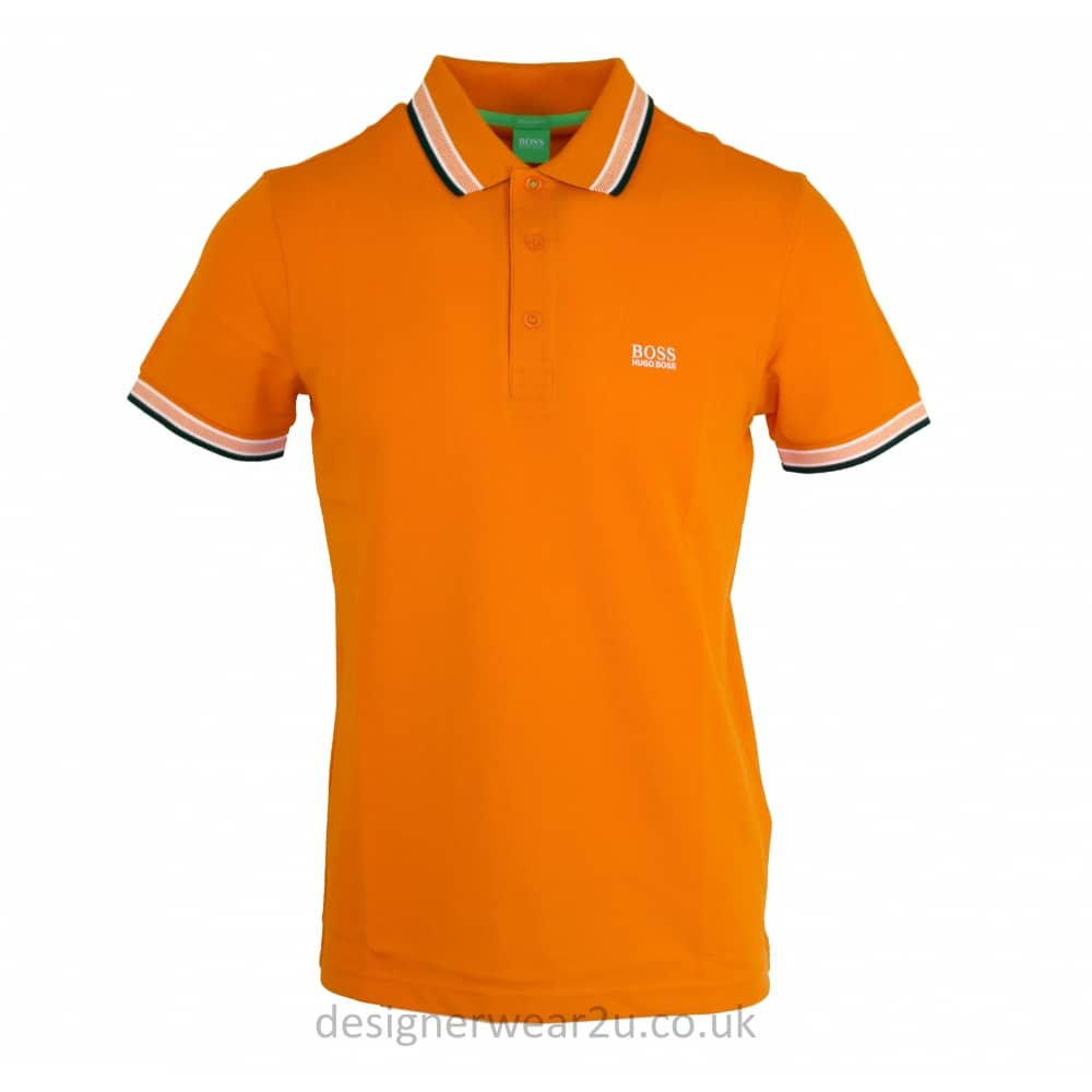 hugo boss orange paddy polo shirt polo shirts from designerwear2u uk. Black Bedroom Furniture Sets. Home Design Ideas