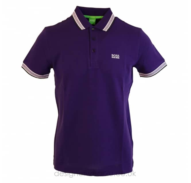 Hugo Boss Hugo Boss Purple Paddy Polo Shirt