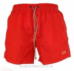 Hugo Boss Red Lobster Swim Shorts