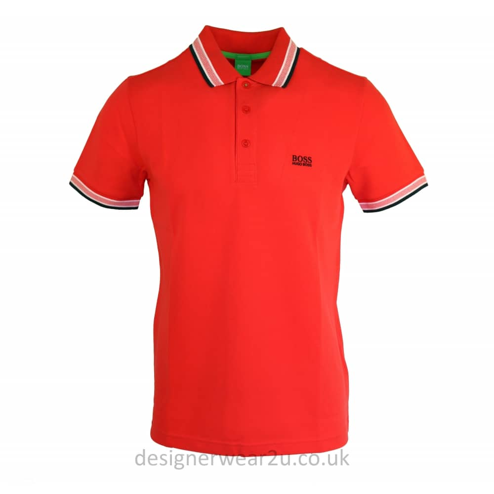 Discount Official polo shirt - Red HUGO BOSS 2018 Cheap Sale Release Dates Online Sale Countdown Package husqgLhyu