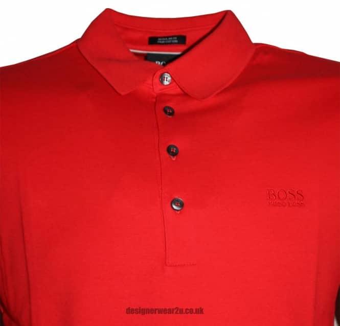 boss red shirt