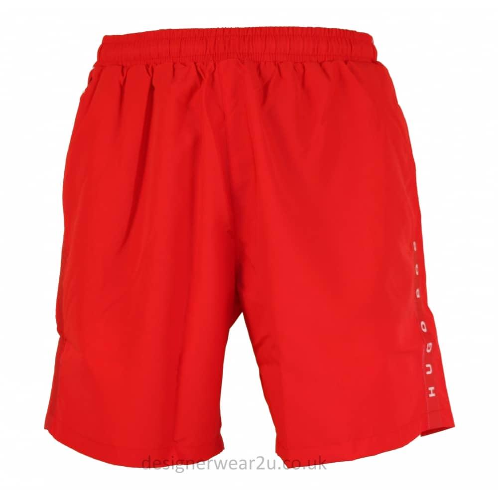 b10b0e60ce928 Hugo Boss Red Seabream Swim Shorts - Gift Ideas from DesignerWear2U UK