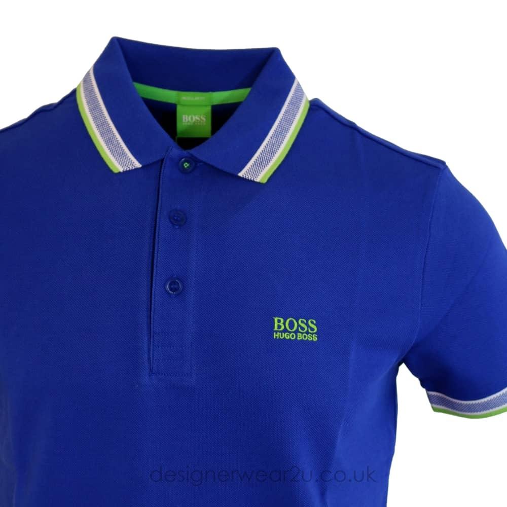am besten billig Super Rabatt beste website Hugo Boss Hugo Boss Royal Blue Paddy Polo Shirt