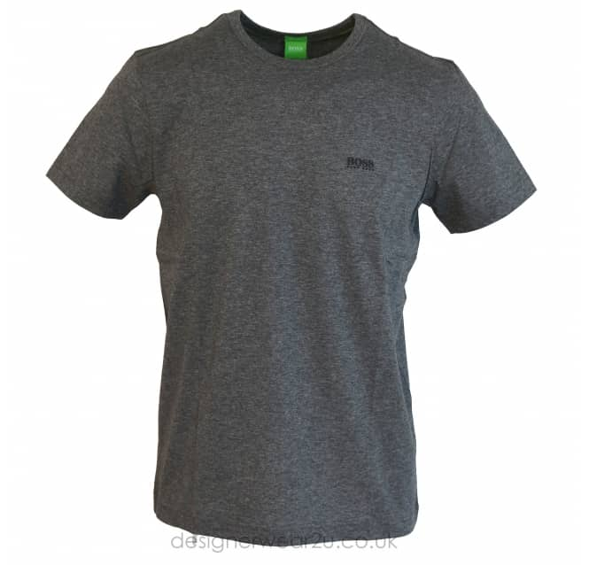 Hugo Boss Hugo Boss Shoulder Logo T-Shirt in Grey