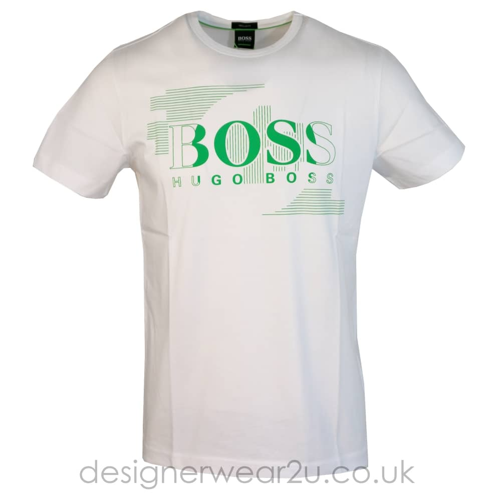 Hugo Boss Tee 1 White T-Shirt With Logo