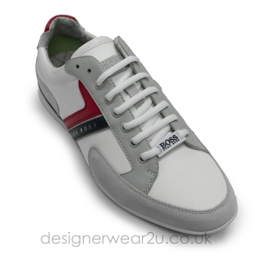 Hugo Boss White Leather \u0026 Suede Mix