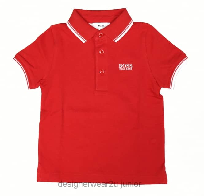 Kids Collection Kids Hugo Boss Classic Polo in Red