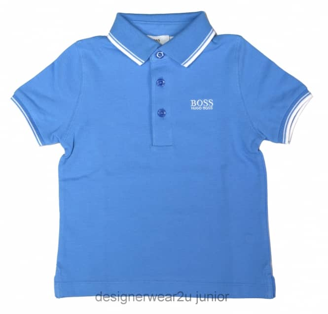 Kids Collection Kids Hugo Boss Classic Polo in Sky