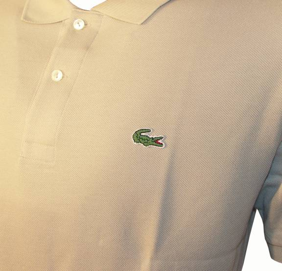 16cd7a4bbf Lacoste Beige Polo Shirt