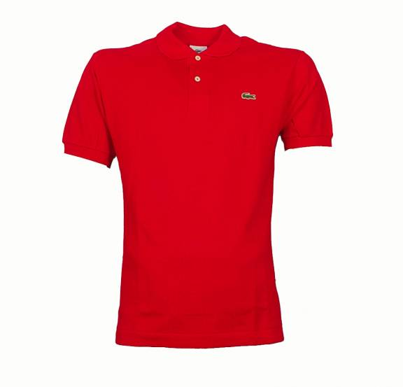 Lacoste Red Polo Shirt Polo Shirts From Designerwear2u Uk