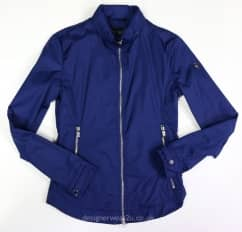 Armani Jeans Blue Fitted Lightweight Jacket