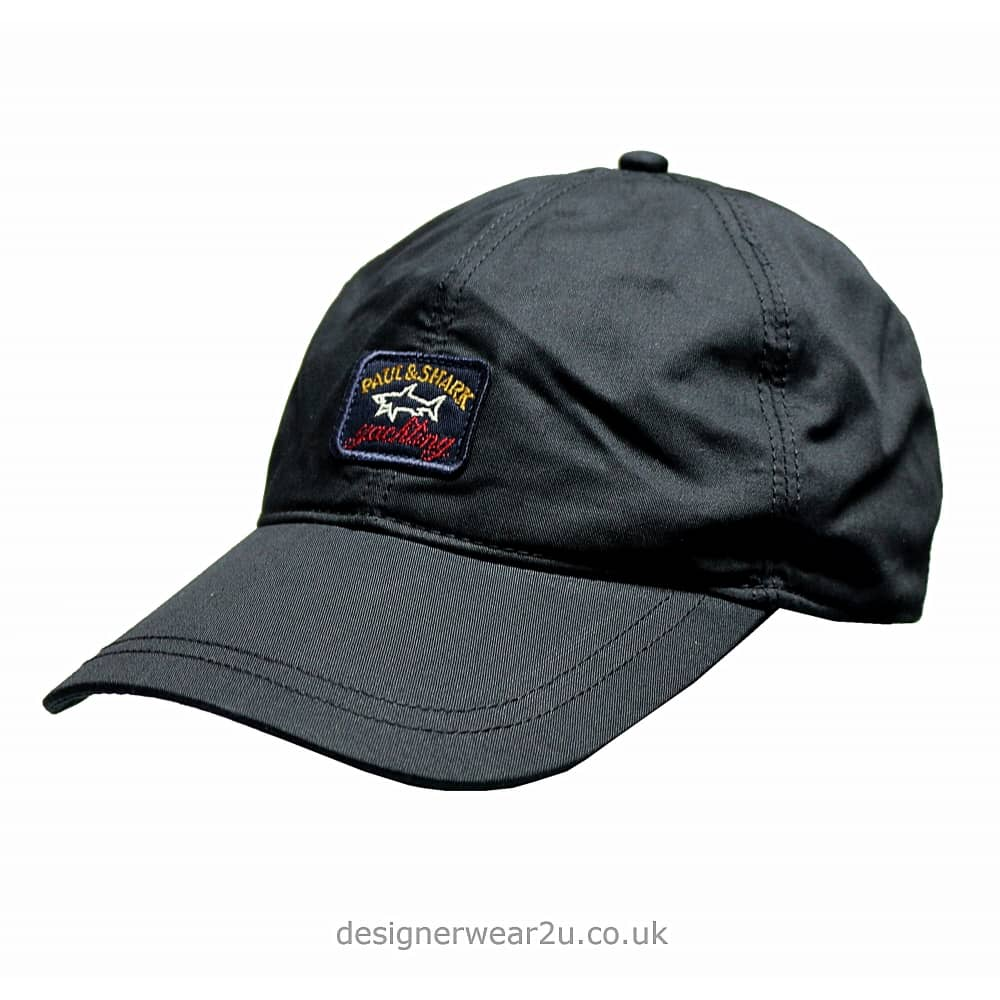 Paul   Shark Baseball Cap in Navy - Headwear from DesignerWear2U UK 0618135d37c9