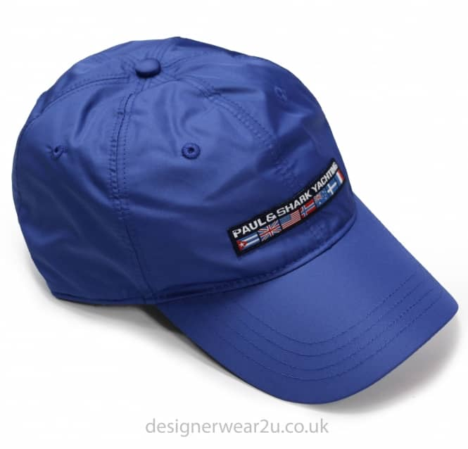 Paul & Shark Paul & Shark Blue Cap With Embroidered Flag Logo