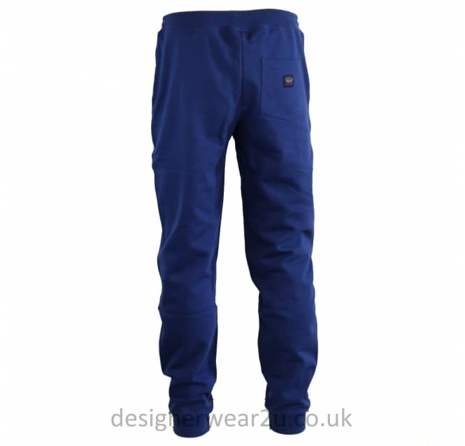 Paul & Shark Paul & Shark Blue Joggers With Elasticated Ankle Cuff