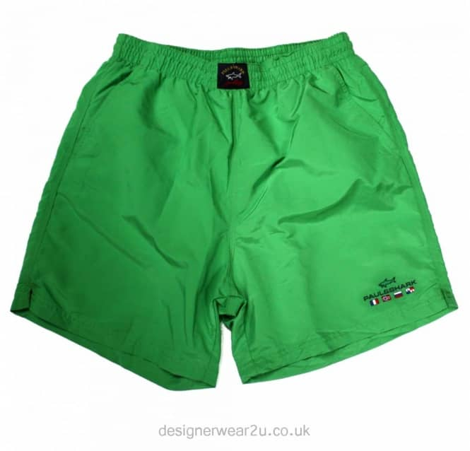 Paul & Shark Paul & Shark Classic Green Shorts