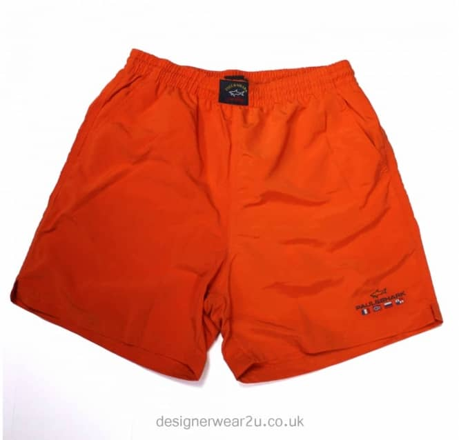 Paul & Shark Paul & Shark Classic Orange Shorts