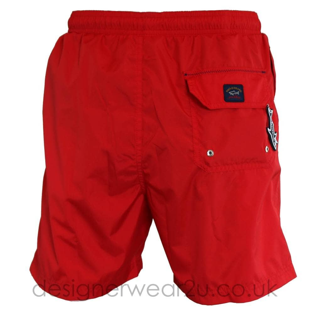 f0c4225f1b Paul & Shark Classic Swim Shorts in Red - Shorts And Swimwear from ...