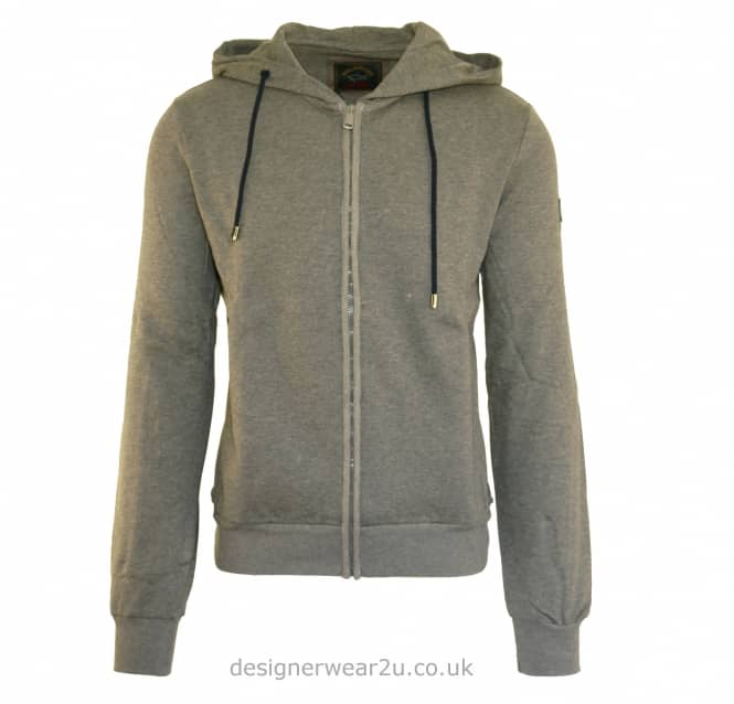 Paul & Shark Paul & Shark Grey Regular Fit Hooded Sweat