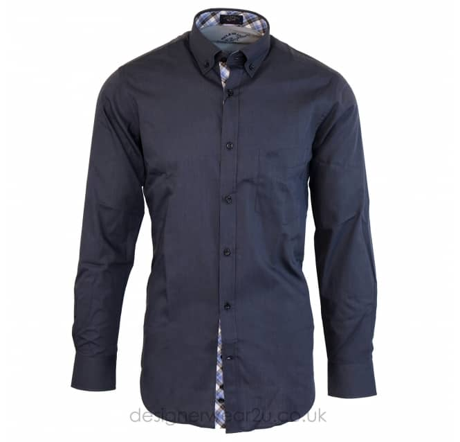 Paul & Shark Paul & Shark Grey Regular Fitting Shirt