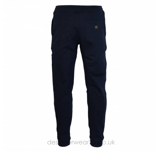 Paul & Shark Paul & Shark Navy Joggers With Elasticated Ankle Cuff