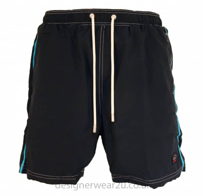 Paul & Shark Paul & Shark Navy Shorts With Contrast Stripe