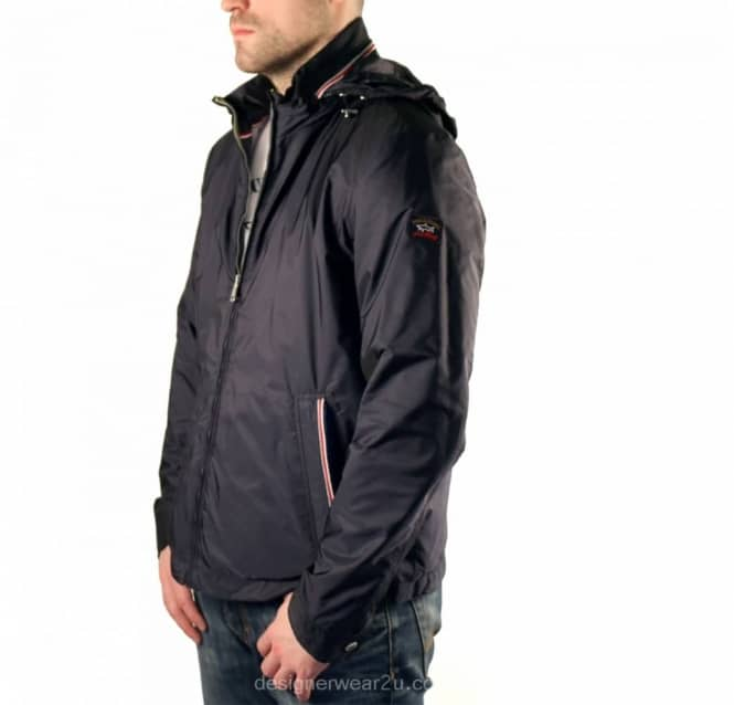 Paul & Shark Navy Lightweight Jacket - Jackets from DesignerWear2U UK