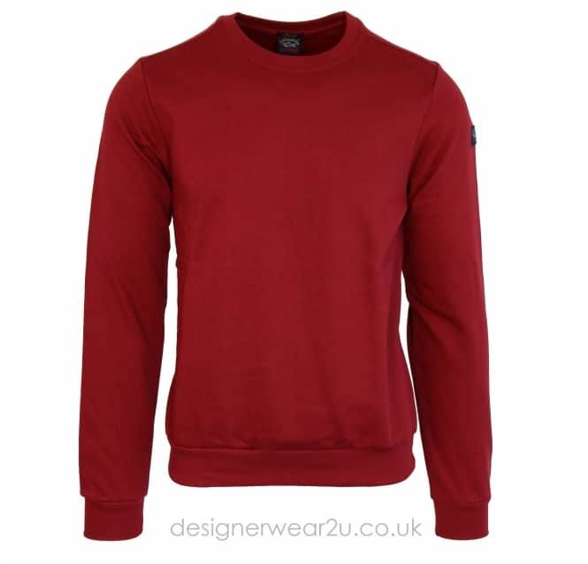 Paul & Shark Paul & Shark Regular Fit Sweatshirt in Bordeaux