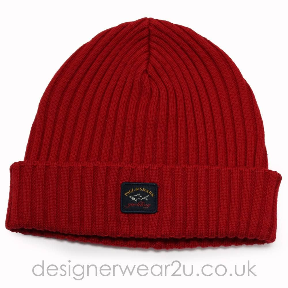 8aa5eede1 Wool Beanie Hat in Red