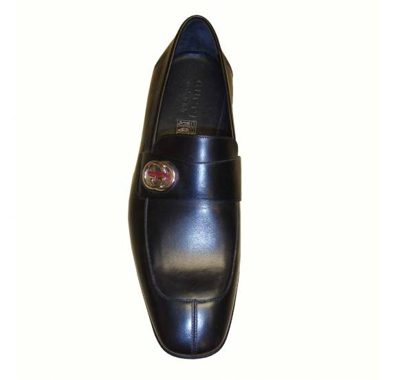 1ad7c2634a7a7f Gucci Dress Shoes in Black Leather LAST REMAINING PAIR - Footwear ...