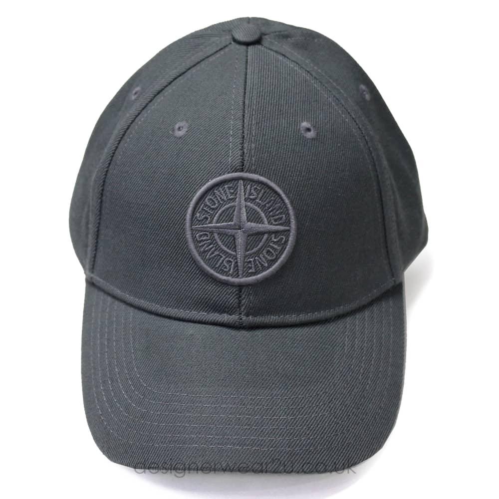 S.Island Stone Island Baseball Cap in Grey - Headwear from ... 26f25421557