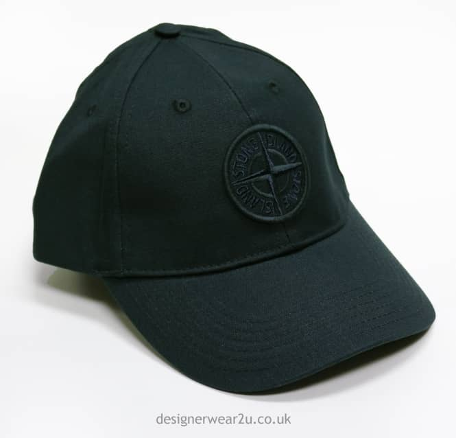 S.Island Stone Island Baseball Cap with Logo in Black - Holiday Shop ... eeff727ff8e
