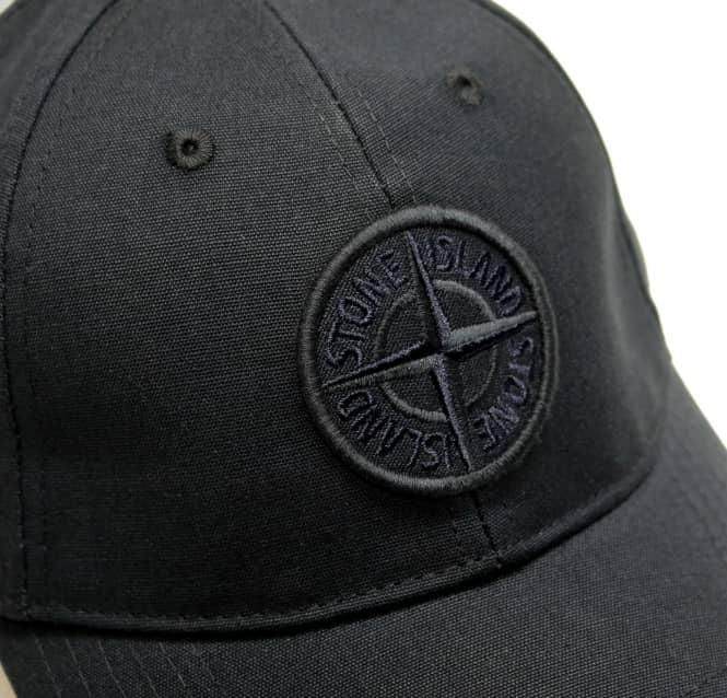38fd04f21077f S.Island Stone Island Baseball Cap with Logo in Black - Holiday Shop ...