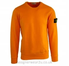Stone Island Crewneck Sweatshirt in Orange
